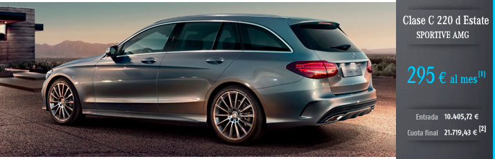 Oferta Mercedes Clase C Estate 220d